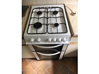 White Freestanding Cooker Canterbury