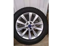 Ford Kuga Alloys And Tyres 235/55/17 Goodyear Vector 4Season Tyres Qty 4