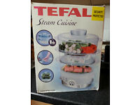 Tefal Steam Cuisine,Food Steamer, Brand New Boxed.