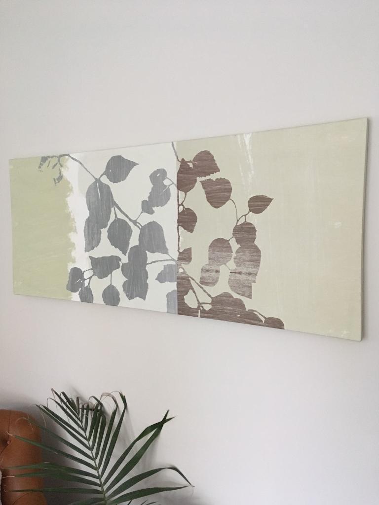 Ikea Leaf Wall Canvas