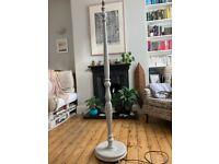 Vintage Floor Lamp hand finished