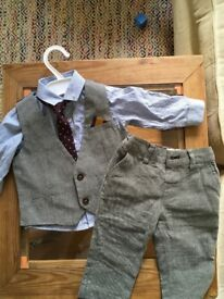 Next Baby boy dress suit 9 months
