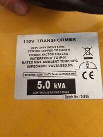 Transformer nearly new