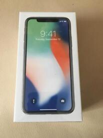 Brand New iPhone X 256gb Silver on EE