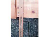 Pine double/ king size head board