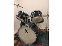 Used professional drum kit