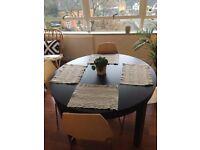 Ikea Bjursta extendable table black/ brown for sale - £100