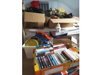 Selection of goods suitable for car boot sale