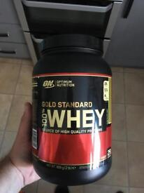 Protein shake mint chocolate used oncd