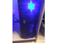 DESKTOP COMPUTER Intel i3 CPU 8gb corsair gaming memory + keyboard + mouse + LG monitor +win10
