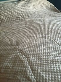 Luxury Quilted Bed Throw