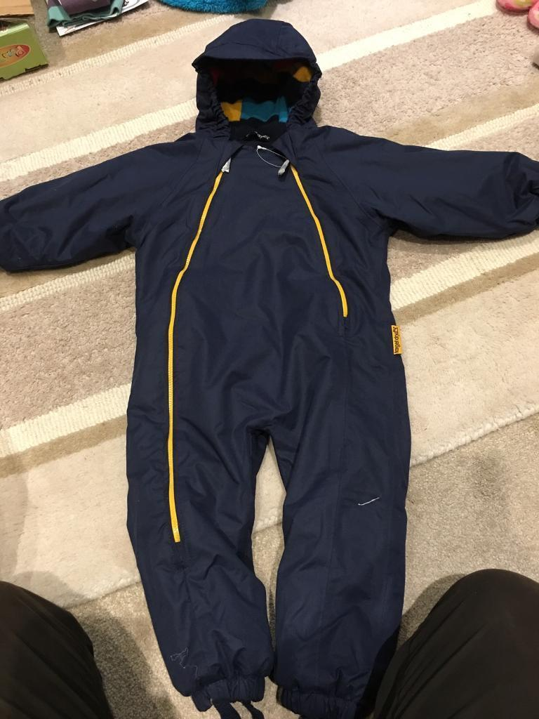 1ef54a617246 Brand new target dry 12-18 month boys all in one jacket   snow suit ...