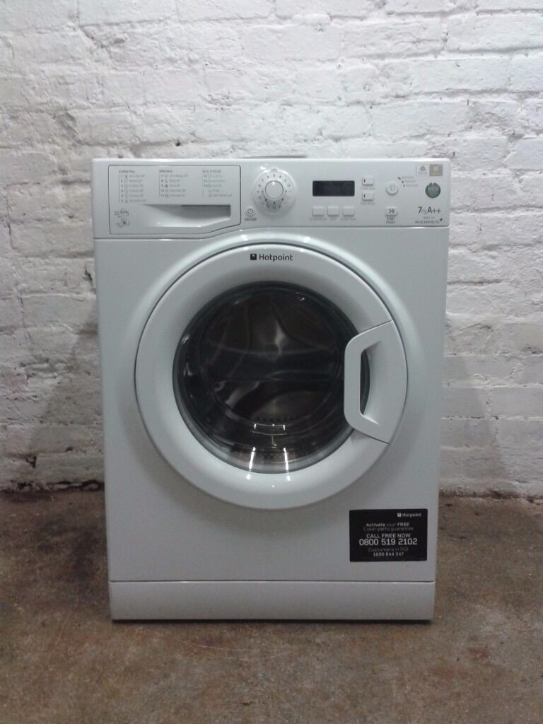 Hotpoint Aquarius Wmpf742 Washing Machine 7kg 1400rpm