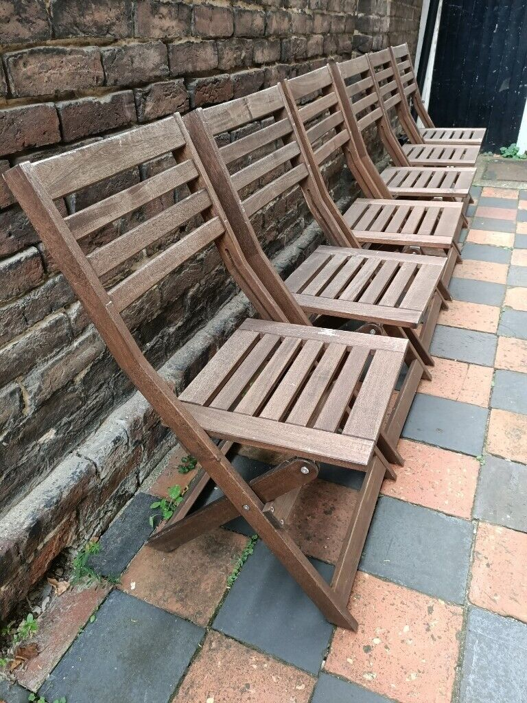 Picture of: Ikea Applaro X6 Folding Garden Chairs In Portsmouth Hampshire Gumtree