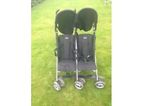 OBaby double buggy / stroller