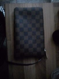 Womens louis vuitton makeup pouch used good condition