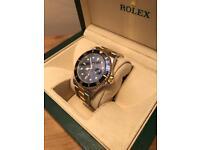 2005 Rolex Submariner 16613 Bi metal, box, certificate & warranty