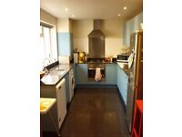 Kitchen- units, cooker, hob, fan, fridge/freezer, washing machine, dishwasher WILL TAKE OFFERS