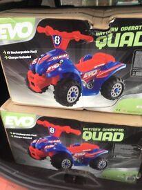 Kids quads 6v electric brand new in the box