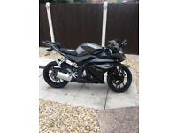 Yamaha YZF-R125 2016 model on 65 plate 1 owner