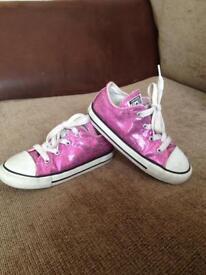 Converse girls junior size 9