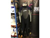 O'Neil wet suit (size small)