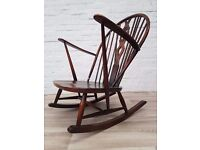 Ercol Rocking Chair (DELIVERY AVAILABLE FOR THIS ITEM OF FURNITURE)