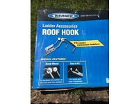 Roof ladder hooks