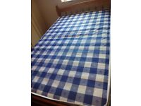 Double mattress 4 feet only 4 months used. £30. To pick it up on 26-27Nov.West didsbury-withinton