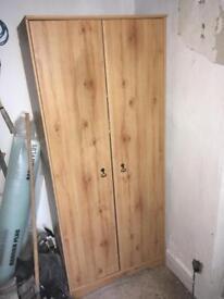 Pine Wardrobe 6ft high