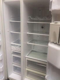 SAMSUNG AMERICAN STYLE FRIDGE WITH WATER DISPENSER WHITE COLOR...FREE DELIVERY