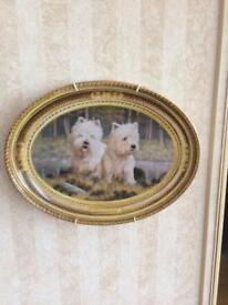 Westie Franklin Mint Plate Collections