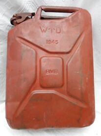 WW2 Vintage Jerry Can 1945 WD BMB