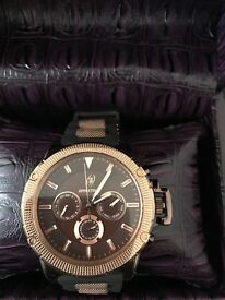 Men's rose gold watches £100