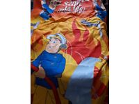 Fireman Sam duvet and pillow case