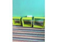 Green shelfs
