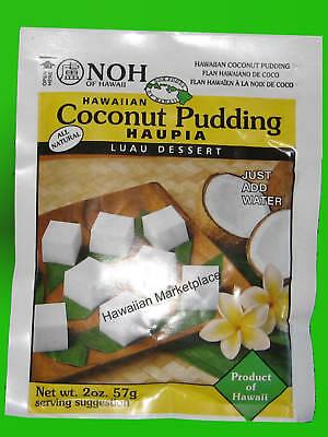 Luau Dessert - Haupia coconut pudding Hawaii-Noh Foods luau dessert