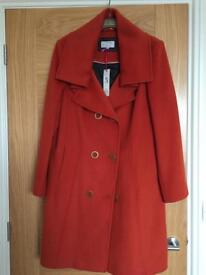 Ladies size 16 Orange Per Una Coat