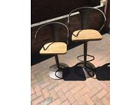 The Range - Industrial Bar Chair x2 - Dark Brown