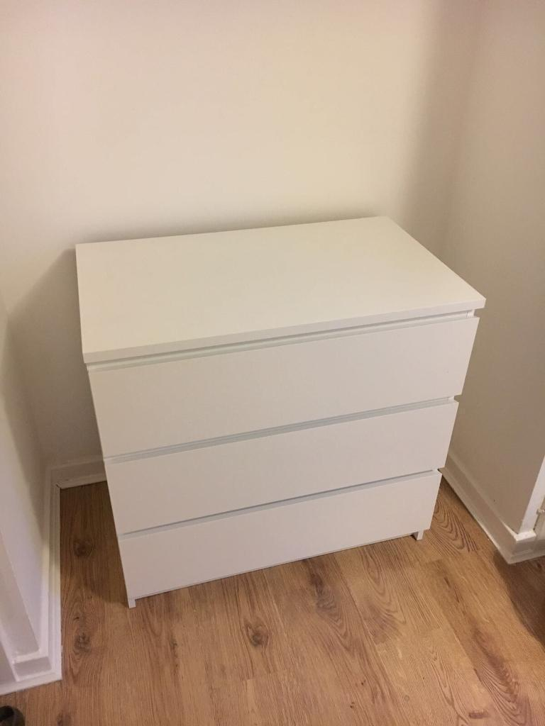 Pre assembled ikea chest of drawers