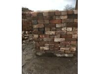 Reclaimed Cheshire bricks 20,000 delivery available