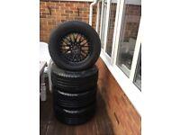 Fallen tyres and rims- 255/55/18