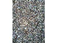 Ornamental pebbles - 15 rubble bags - £3 each