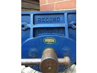 Record woodworkers vice model 521/2 P.