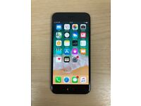 Apple iphone 6 64GB, unlocked to all network Black Silver Mobile phone Good Condition