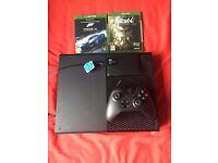 Xbox One Console 500gb + 2TB HDD + 2 Games