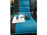 X-ROCKER iNFINITY PLAYSTATION GAMING CHAIR - IN EXCEL CONDITION