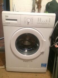 Beko washing machine - nearly new