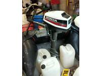honda 5hp outboard engine boat fishing inflatable