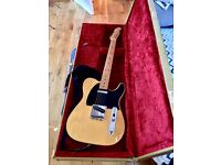Fender 0141502307 Classic Player Baja Telecaster Maple Fingerboard Electric Guitar - Blonde